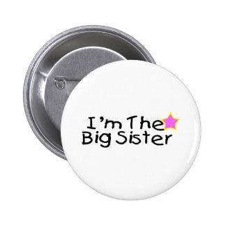 I'm The Big Sister 6 Cm Round Badge