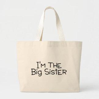 Im The Big Sister Canvas Bag