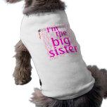 I'm the big sister dog tee shirt