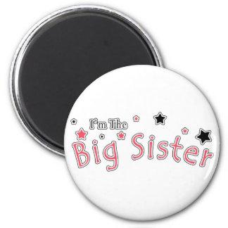 I'm The Big Sister 6 Cm Round Magnet