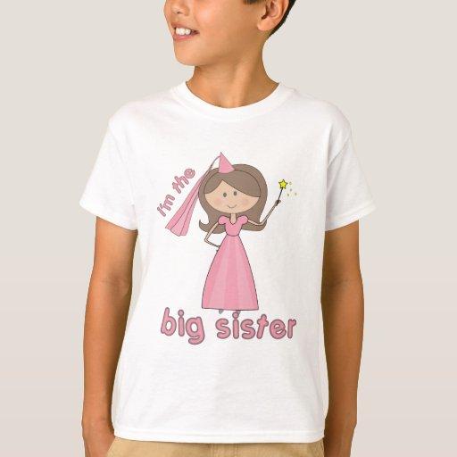 i'm the big sister princess tshirt