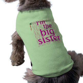 I'm the big sister~ sleeveless dog shirt