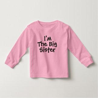 I'm the Big Sister Toddler T-Shirt