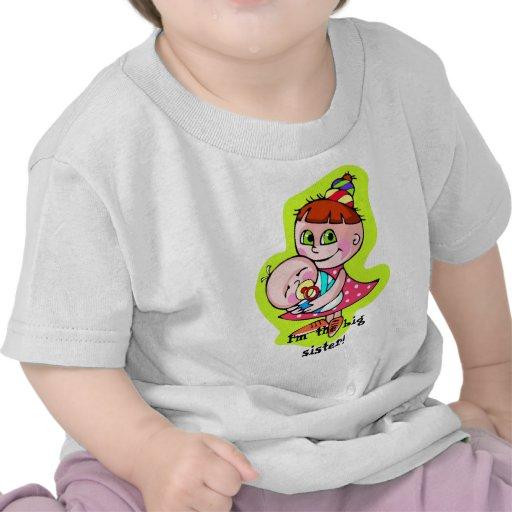I'm the big sister! t-shirts