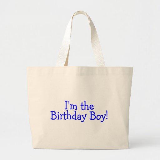 Im The Birthday Boy (Blue) Bags
