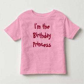 I'm the Birthday Princess Toddler T-Shirt