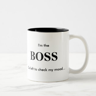 I'm the BOSS (2) Two-Tone Coffee Mug
