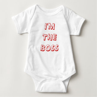 I'm The Boss Baby Bodysuit