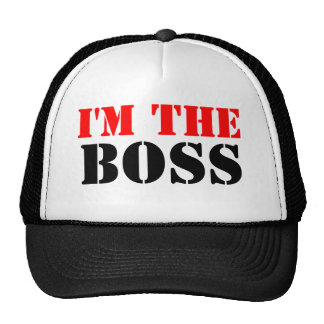 I'm The Boss Cap