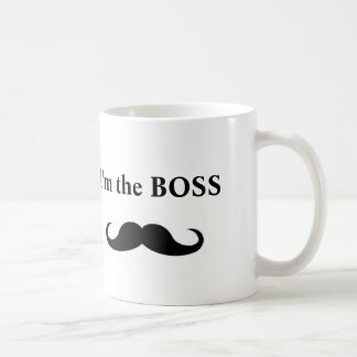 I'm the BOSS, coffee mug