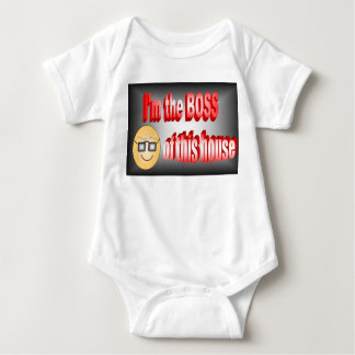 I'm the boss of this house baby bodysuit
