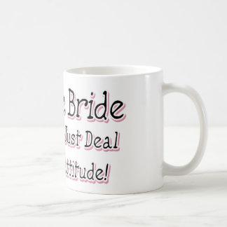 I'm The Bride Basic White Mug