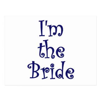 Im the Bride Postcard