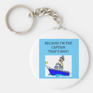 i'm the captain key ring