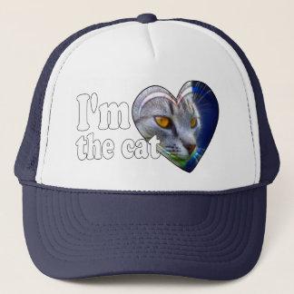 I'm the cat trucker hat
