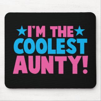 I'm the COOLEST Aunty! Mouse Mat