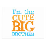 I'm the CUTE Big brother Post Cards