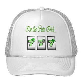 I'm the Cute Irish.. 777 Cap Trucker Hat