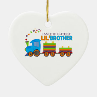 I'm the cutest Lil' Brother Christmas Ornaments