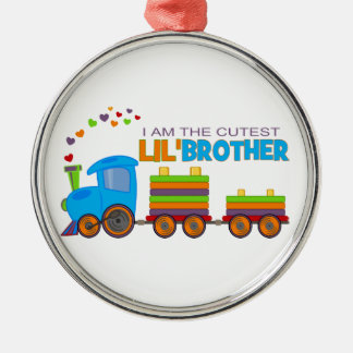 I'm the cutest Lil' Brother Christmas Tree Ornament