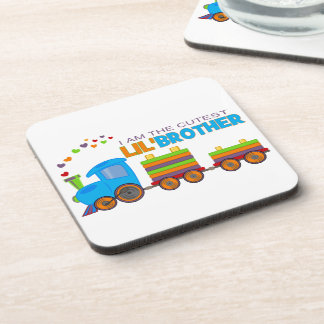 I'm the cutest Lil' Brother Drink Coasters