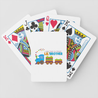 I'm the cutest Lil' Brother Poker Deck