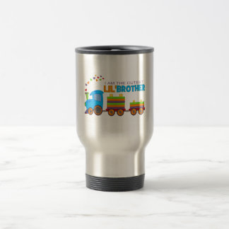 I'm the cutest Lil' Brother Stainless Steel Travel Mug