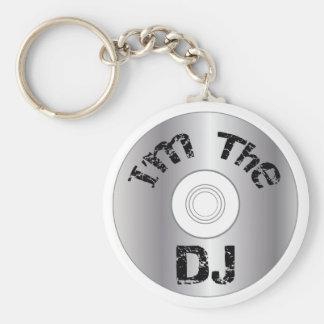 I'm The DJ Keychain