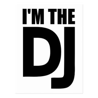 I'm the DJ Post Card