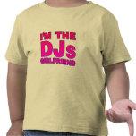 I'm The DJs Girlfriend - gf Disc Jockey deejay Tee Shirt