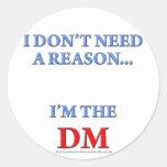 I'm the DM Sticker
