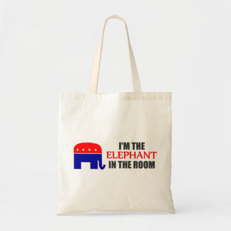 I'm the Elephant in the Room Tote Bag