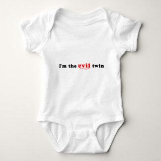 I'm The Evil Twin Baby Bodysuit