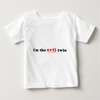I'm The Evil Twin Baby T-Shirt