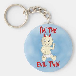 I'm The Evil Twin Keychain