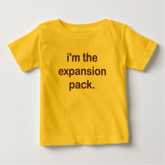 I'm The Expansion Pack (Bn/Bk) Baby T-Shirt