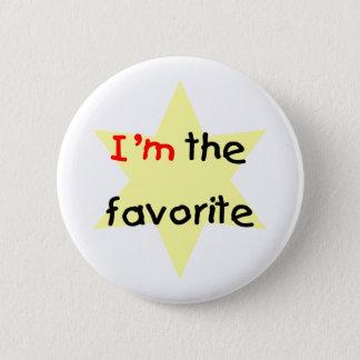 I'm the favorite (yellow) 6 cm round badge