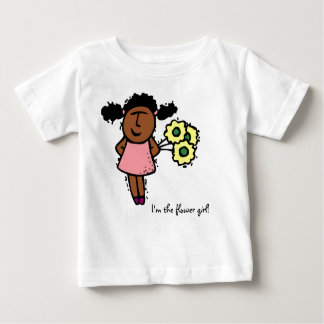 I'm the flower girl! Baby T-Shirt