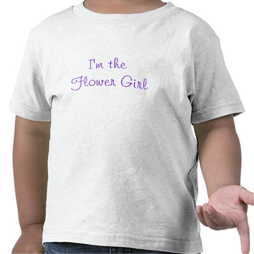 I'm the Flower Girl Shirts