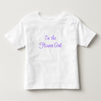 I'm the Flower Girl T-shirts