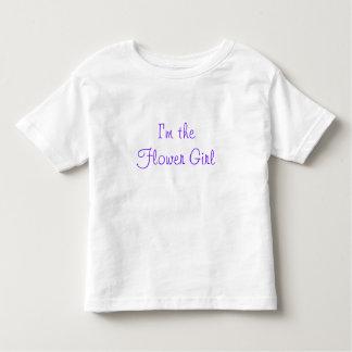 I'm the Flower Girl Tshirts