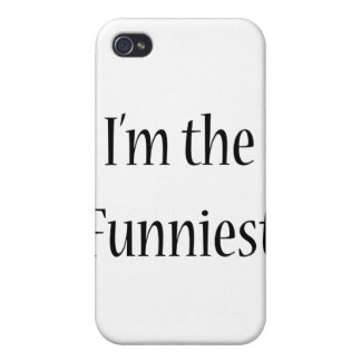I'm The Funniest Cover For iPhone 4