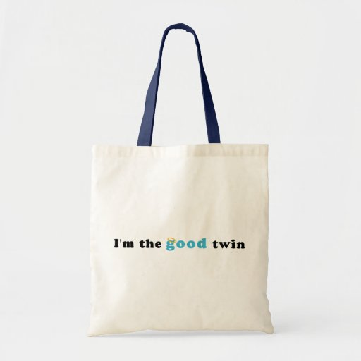 I'm The Good Twin Bags