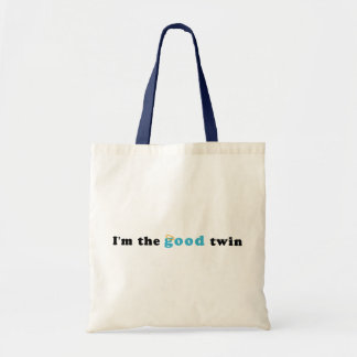 I'm The Good Twin Tote Bag