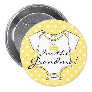 I'm The Grandma! Pinback Button
