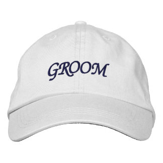 I'm the Groom Adjustable Hat Embroidered Hats