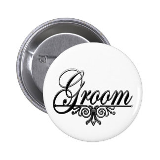 I'm The Groom Buttons