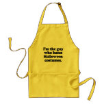 I'm the guy who hates halloween costumes aprons