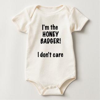 Im the Honey Badger! I Dont Care! Bodysuits