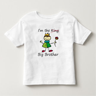 I'm the King - Big Brother Toddler T-Shirt